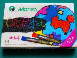 12pc MARIES OIL PASTEL SET