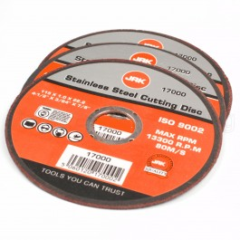 """3pc Stainless Steel Cutting Disc 115mm 4 1/2"""""""