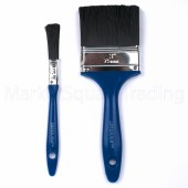 "Green Jem Delux 2pc Paint Brush1x3""+1x0.5"""