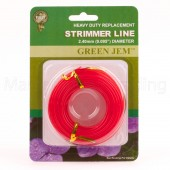 Strimmer Line Green Jem Electric Strimmers 1 x*10mtr 2.40mm Rolls