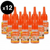 Super Glue High Strength Green Jem Strong 12x20g Bottles Cyanoacrylate TGGL20G