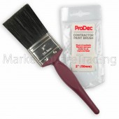 "Paint Brush 2"" Inch / 50mm ProDec  Contractors Synthetic And Pure Bristle"