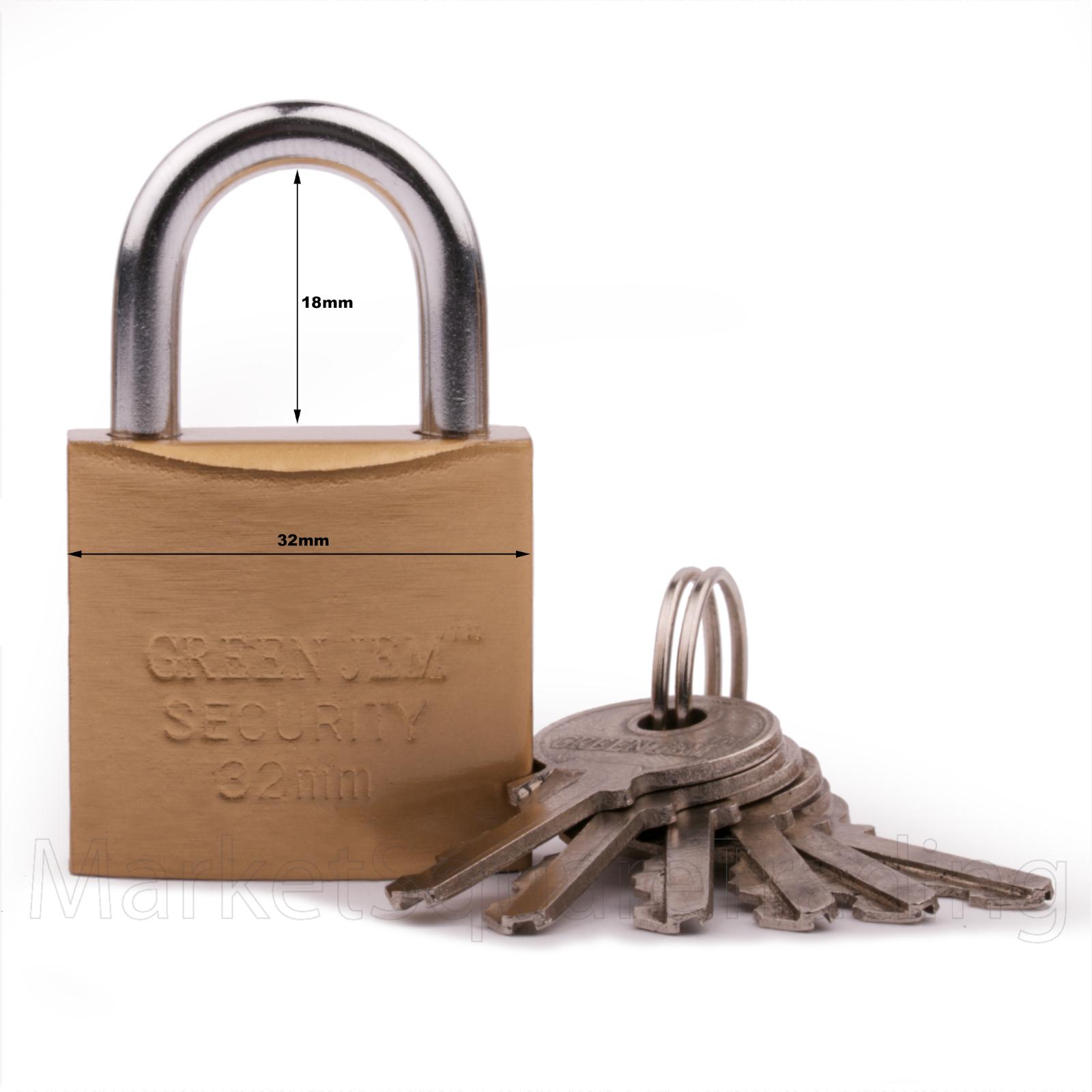 Padlocks Brass Iron Good Quality Lock High Security Lrg