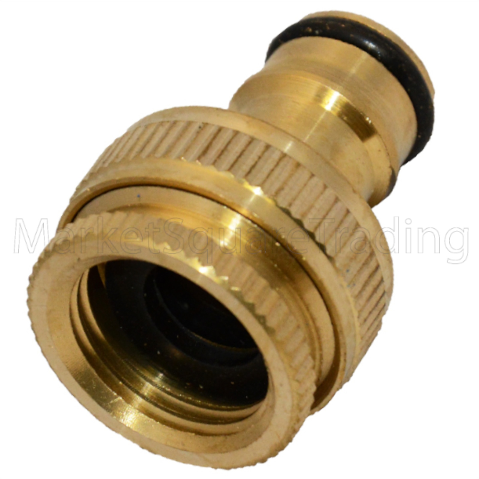 brass hosepipe connector quick adaptor outside tap kit fittings
