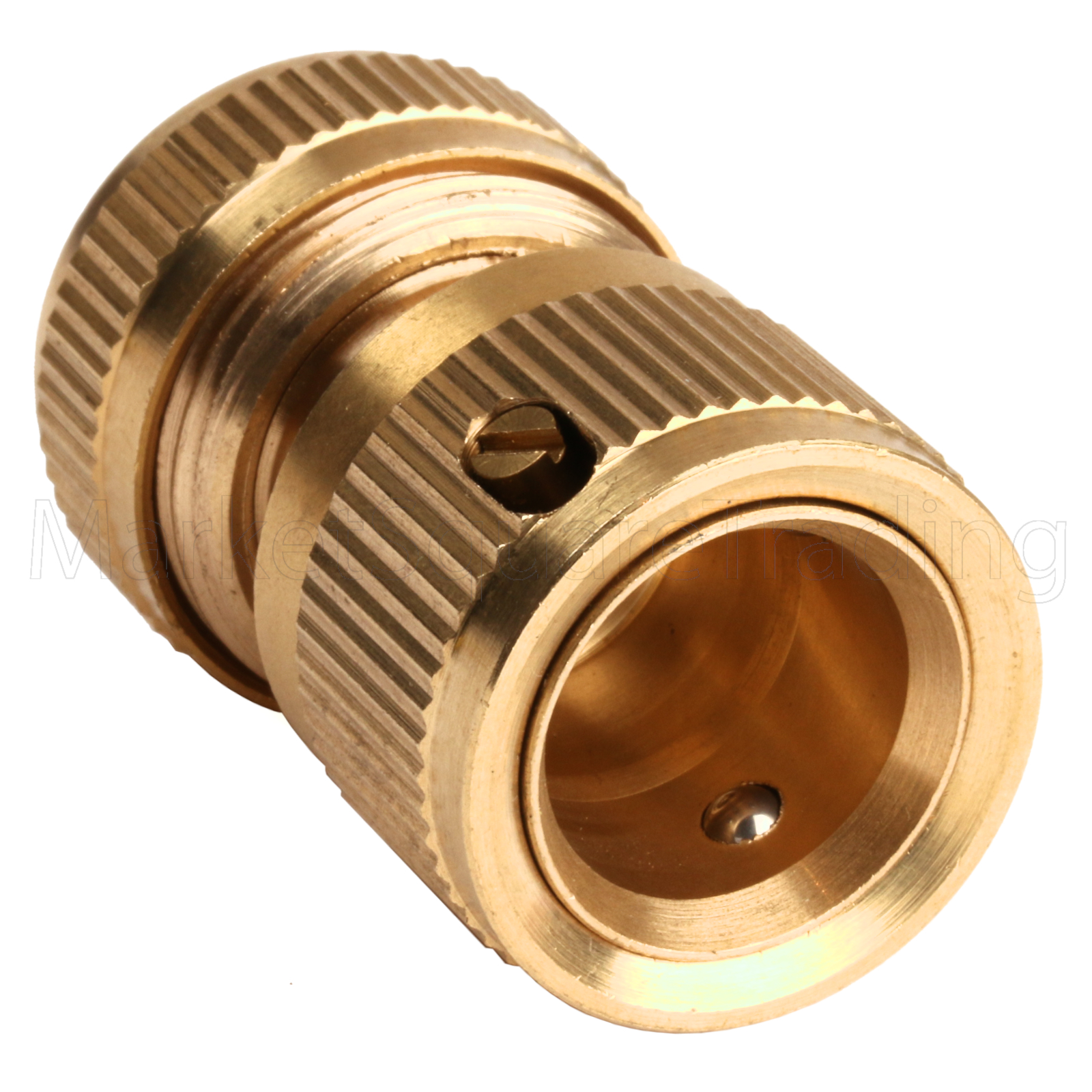 Brass hosepipe connector quick adaptor outside tap kit