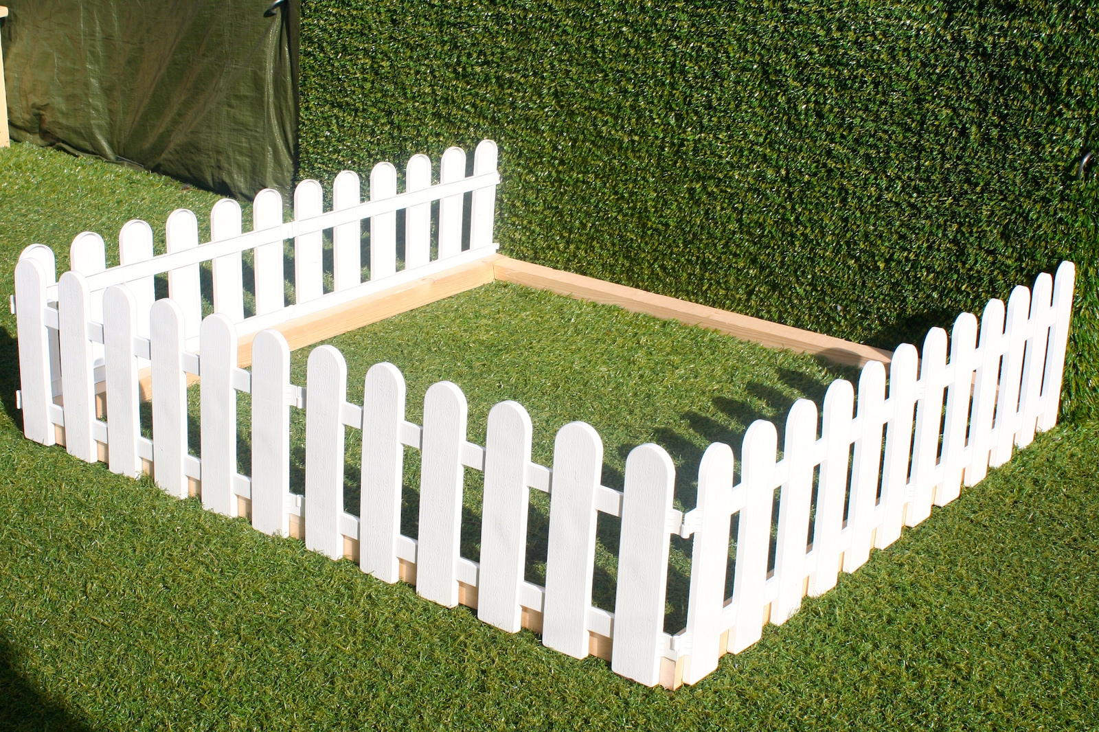 Low Wooden Fence Staxel: PLASTIC FENCING LAWN GRASS BORDER PATH GRAVE EDGING FANCY